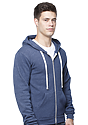 Unisex Organic RPET French Terry Zip Hoodie  Front