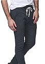 Unisex Organic RPET French Terry Jogger Pant HEATHER COAL Side