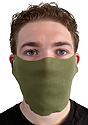 Unisex Rib Face Mask OLIVE Front