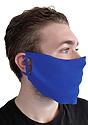 Unisex Rib Face Mask ROYAL Side