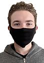 Unisex Lightweight Organic Jersey Face Mask  Front