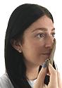 Unisex Jersey Face Mask HEATHER MOCHA back2