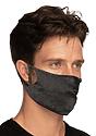 Unisex Jersey Face Mask HEATHER SMOKE Laydown