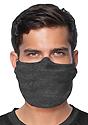 Unisex Rib Spandex Face Mask TRI ONYX Front