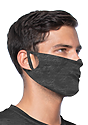 Unisex Rib Spandex Face Mask TRI ONYX Side