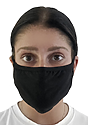 Unisex Organic 2 Ply Face Mask NIGHT Front