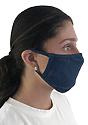 Unisex Organic 2 Ply Face Mask OCEAN Side