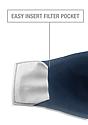 Unisex Organic 2 Ply Face Mask OCEAN Laydown