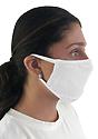 Unisex Organic 2 Ply Face Mask SALT Side