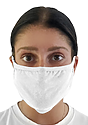 Unisex Organic 2 Ply Face Mask  Front