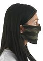 Unisex Camo Jersey Face Mask  Side