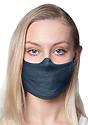 Unisex Jersey Face Mask NAVY Side
