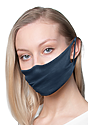 Unisex Jersey Face Mask NAVY Laydown