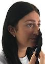 Unisex Rib Face Mask BLACK Side3