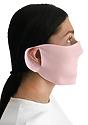 Unisex Rib Face Mask PINK Side