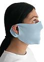 Unisex Rib Face Mask SKY Side