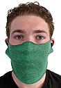 Unisex Rib Spandex Face Mask TRI KELLY Front