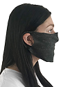 Unisex Rib Spandex Face Mask  Side2
