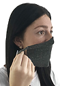 Unisex Rib Spandex Face Mask  Side3