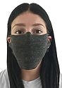 Unisex Rib Spandex Face Mask  Side